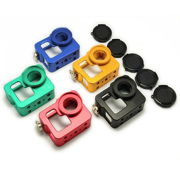 Protective Case Housing Shell With Lens Cap for GoPro HD Hero 3 3+