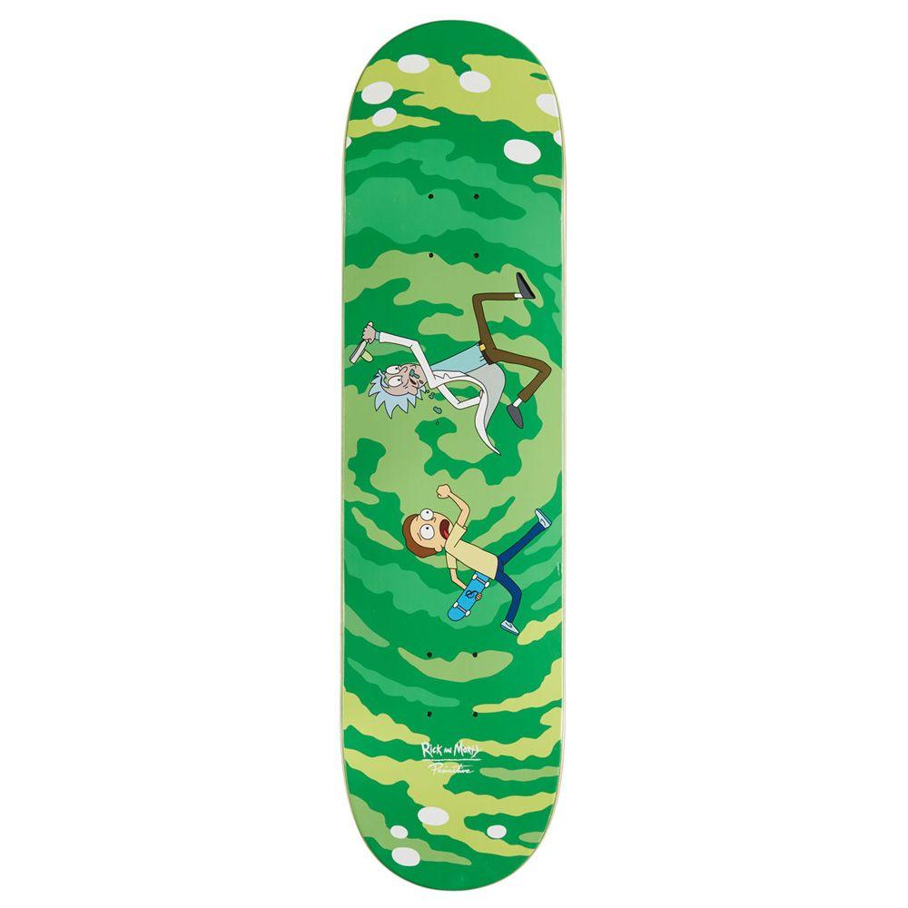 Tabla Rick Morty De Primitive Skate Shop Tablas De Skate Diseno Del Monopatin Imagenes De Skate
