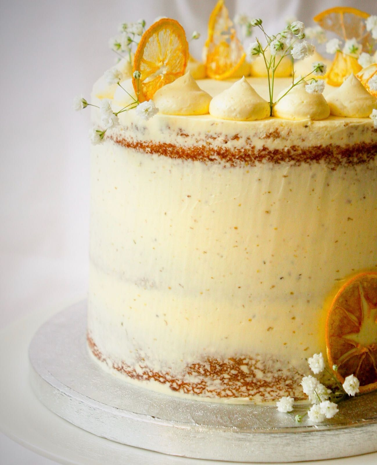 Lemon And Elderflower Cake Lemon Birthday Cakes No Bake Cake Cake Decorating