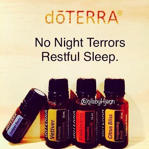 Dōterra Nightmares Night Terrors Children Kids Essential