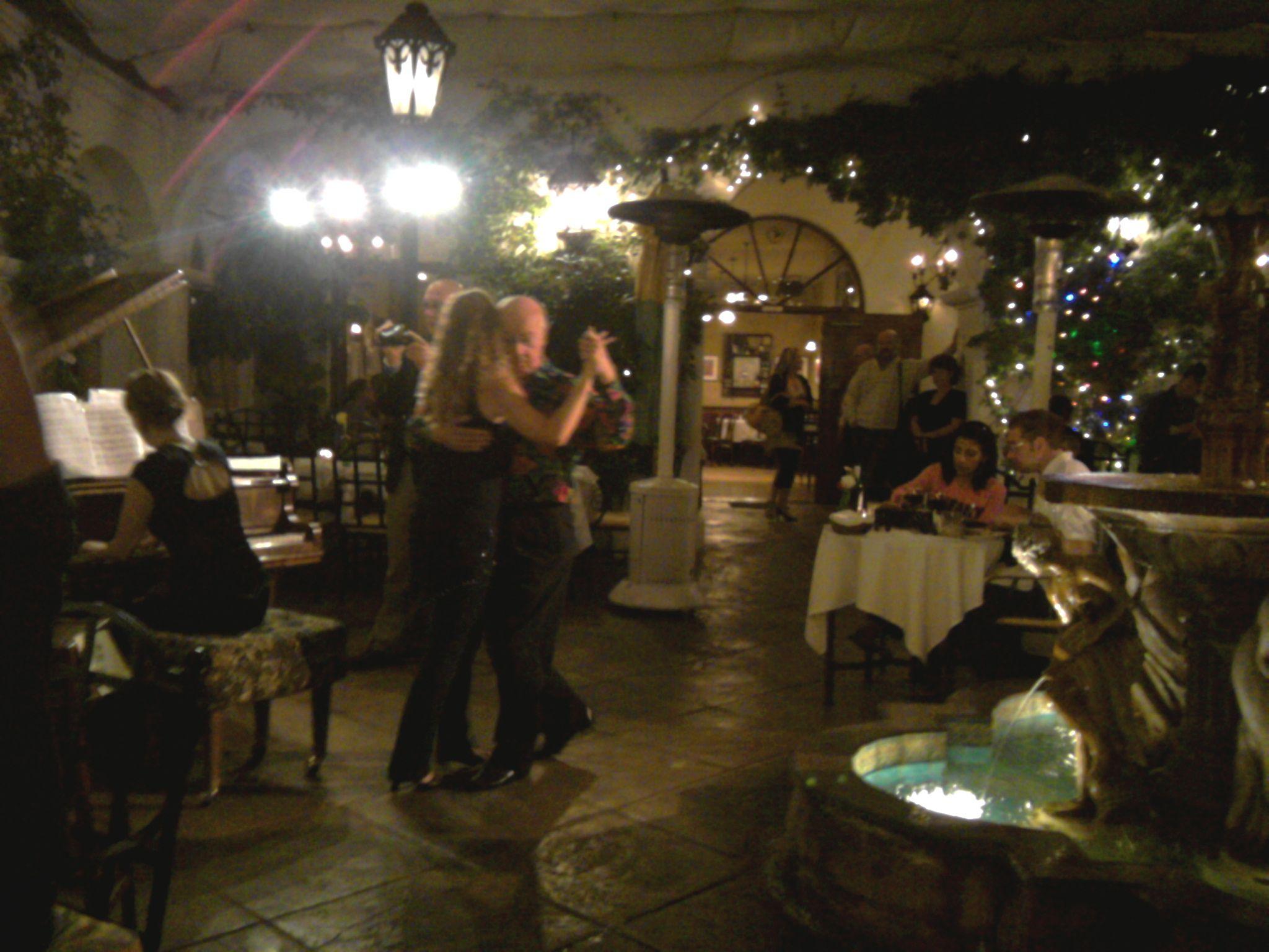 Cafe Buenos Aires, Santa Barbara, CA Argentine tango