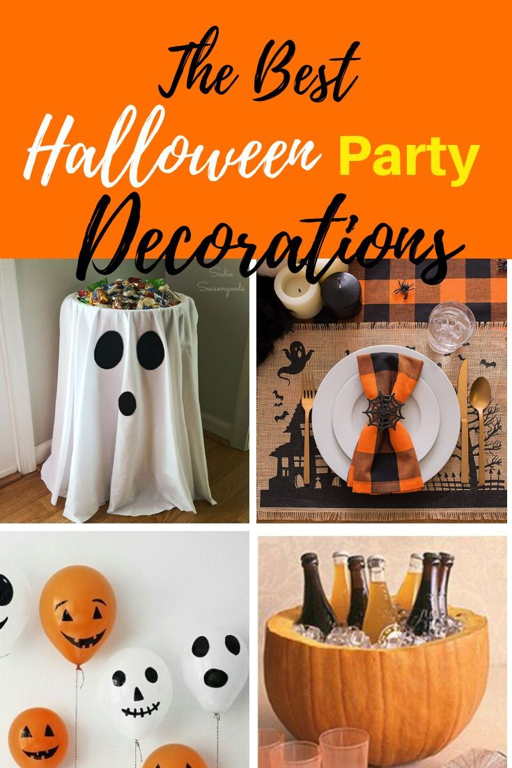 The best halloween decorations for the perfect halloween party all