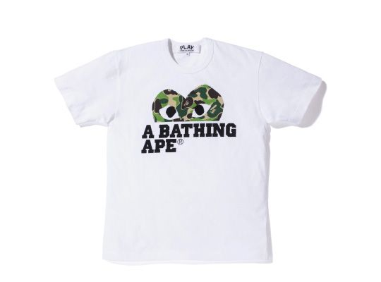 A Bathing Ape x PLAY COMME des GARCONS - The Full Collection ... 3421b5d66