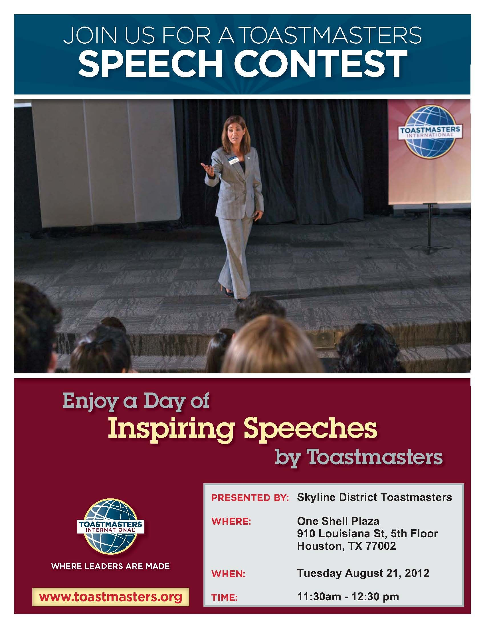 Speech Contest Flyer Toastmasters Pinterest Education And Words Toastmaster Wiring Diagram