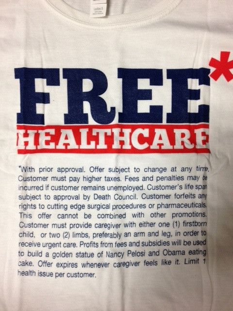 Free Healthcare - $12 Tee. ON POINT