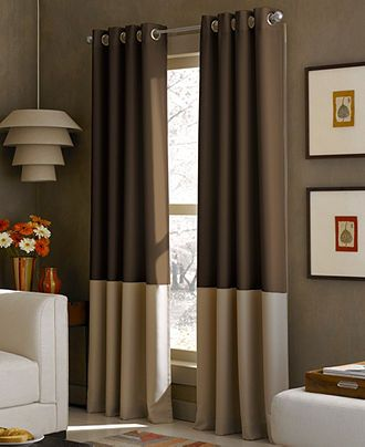 Kendall 52 X 63 Panel Lined Curtains Interior Window Trim