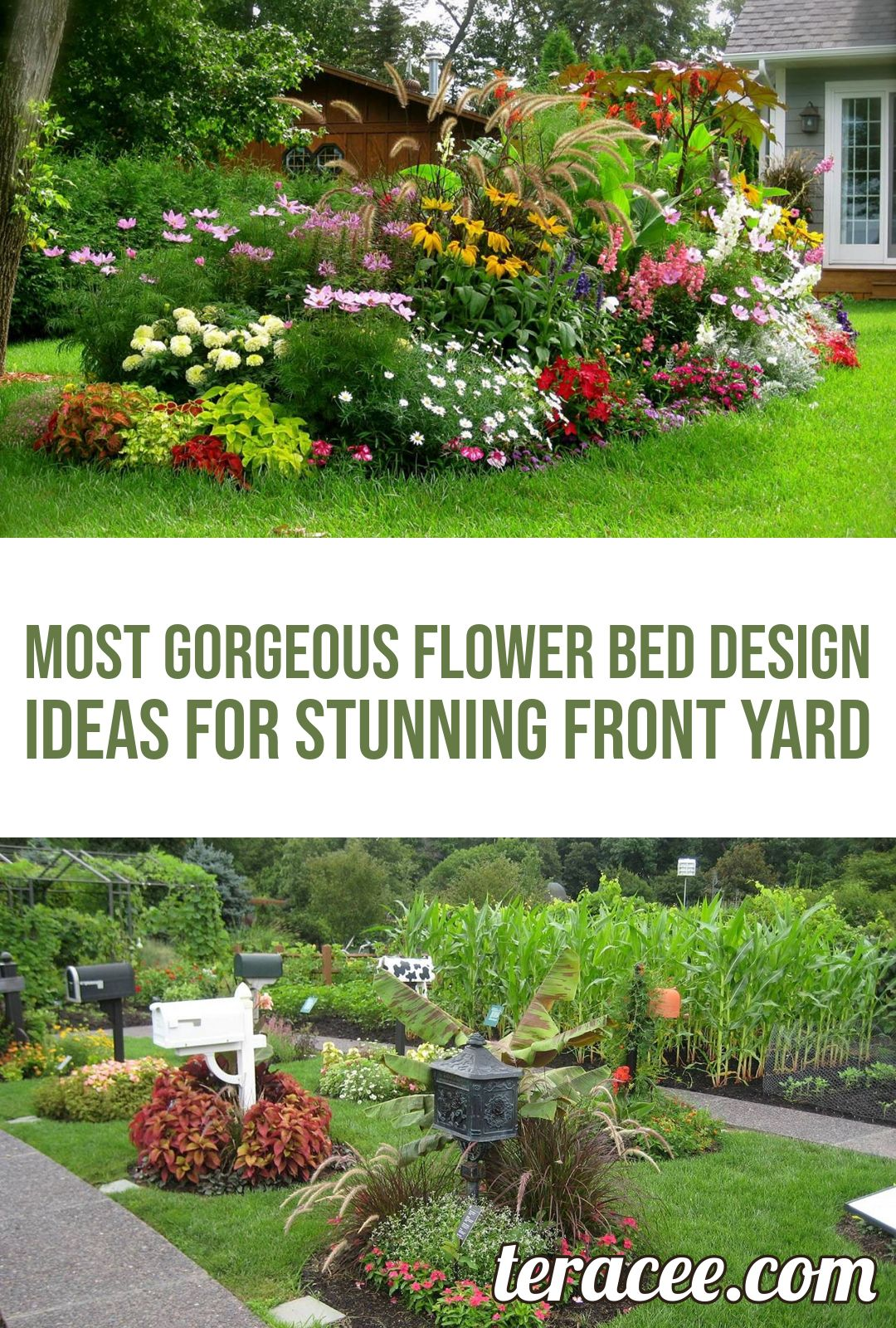 25 most gorgeous flower bed design ideas for stunning