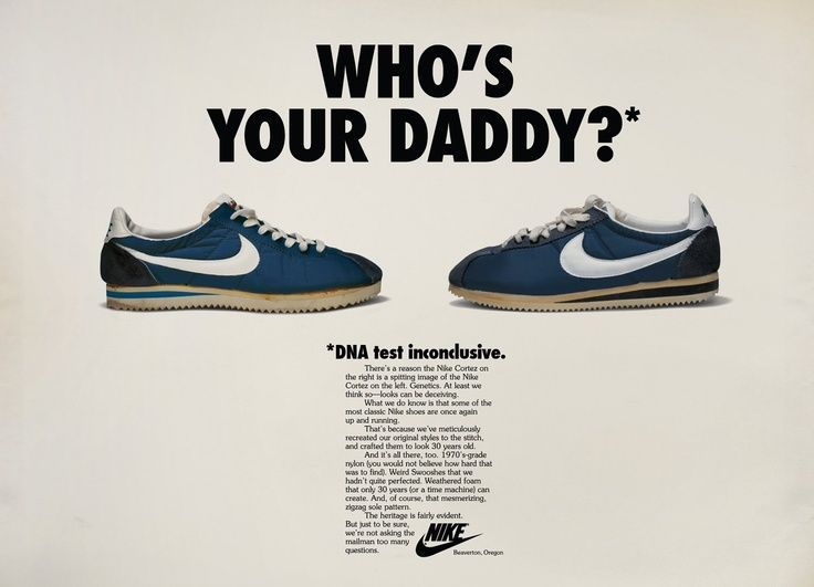 This Represents Copy As There Is A Few Paragraphs Of Explaination Nike Ad Vintage Nike Nike Poster