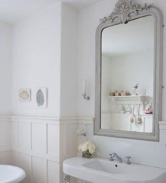 Salle de bains romantique | Accessoires de décoration d\'intérieur ...