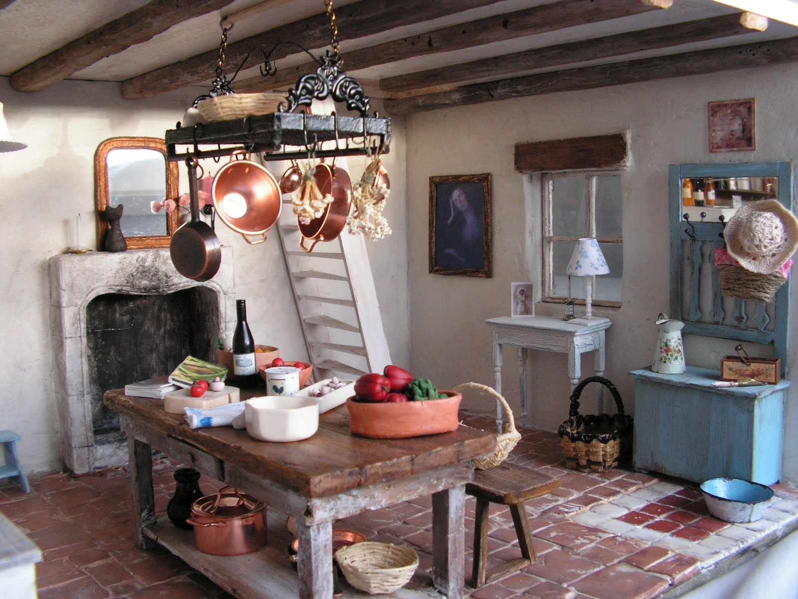 country french cottage mini daydreams french country kitchens country style kitchen on kitchen interior french country id=79463