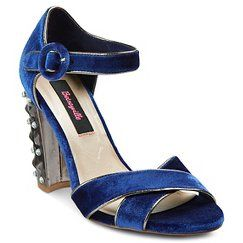 Women's Betseyville Heartbreaker Embellished Heeled Sandal - Navy