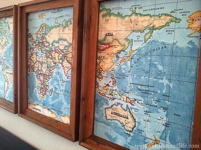Thank you stacey mckenzie johnny homemaker pinterest map world map framed gumiabroncs