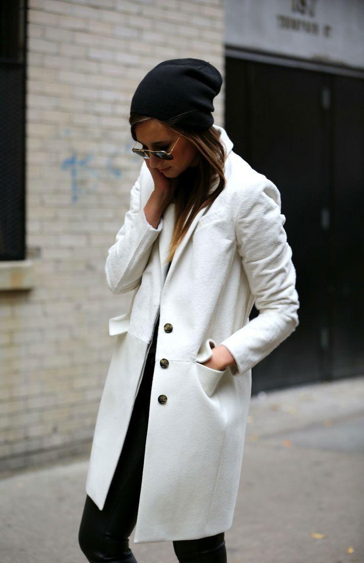 95cea44c9b4f71 Cappotto bianco, gli abbinamenti migliori | Fall vibes... | Cappotti ...