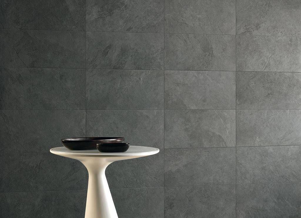 Piastrelle Bagno 30x60.Caesar Slab Black 30x60 Cm Abwm Piastrelle Ceramica Pavimenti