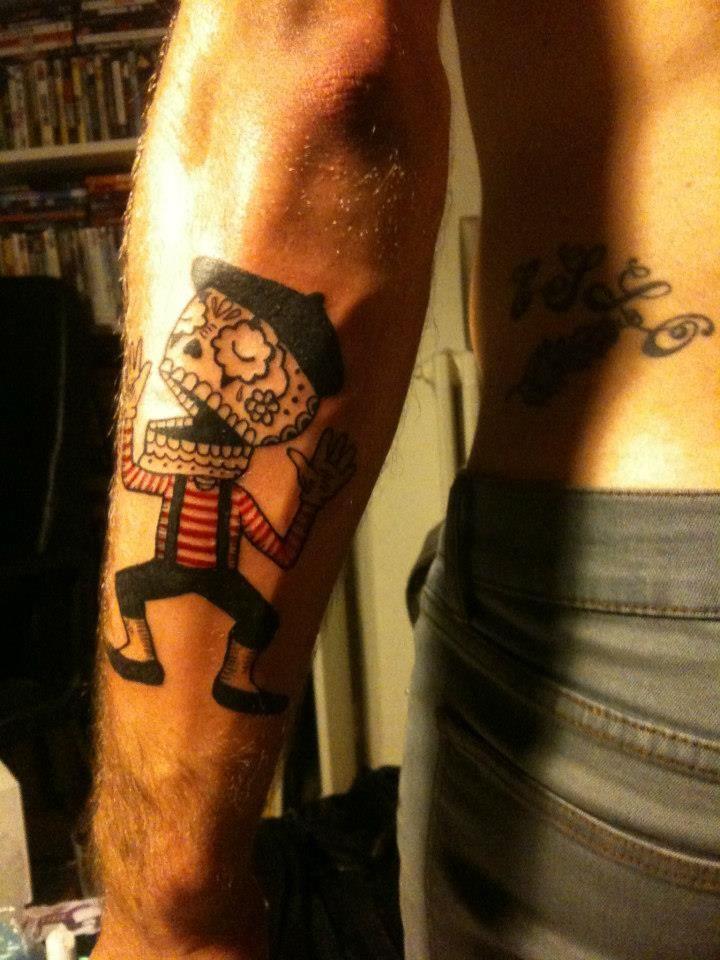 Con de mime ! (design by jose pulido )   tattoo   Tattoos ...