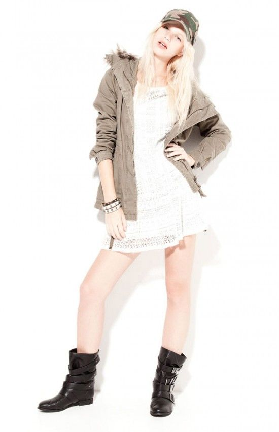 Bershka 2012 Kış Lookbook