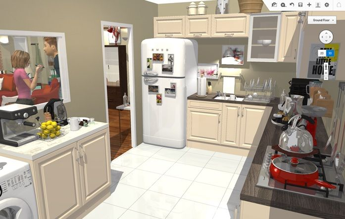 How I Met Your Mother Kitchen in 3D Kitchen ideas TV show http ...