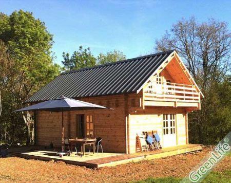 maison bois en kit mareva 96m maison bois en kit. Black Bedroom Furniture Sets. Home Design Ideas