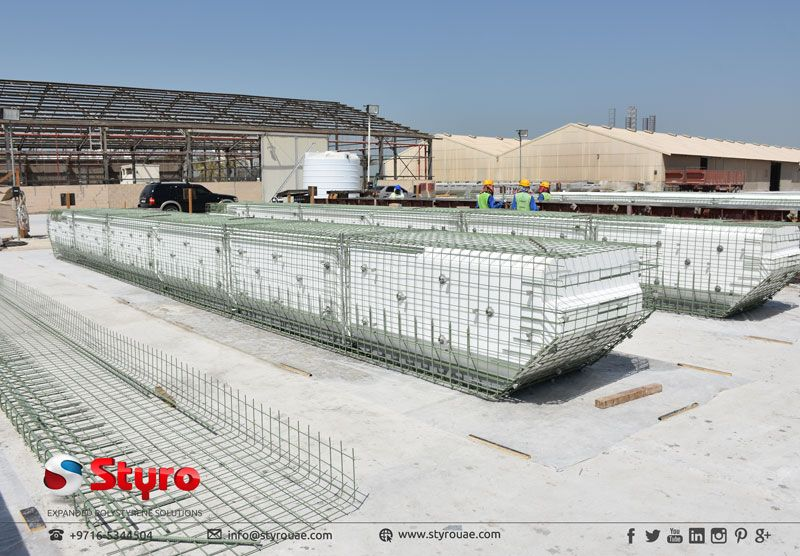 Eps Blocks Enclosed In The Steel And Cement For Floatation Floating House Floating Architecture Pontoon