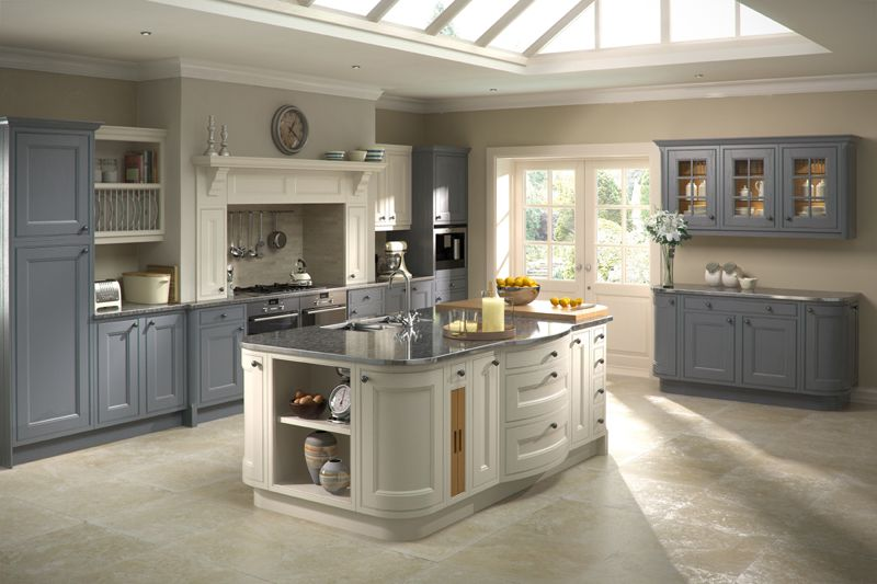 slate color kitchen cabinets | celtic heritage kitchens | inlet