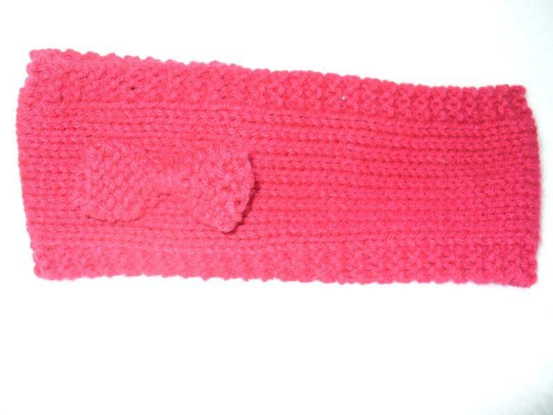 Easy Headband with Bow Knitting Pattern - Jeris Swanhorst | Kid ...