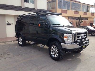 2006 Ford E350 4x4 6 0l Turbo Diesel Auto Leather Lifted Like New