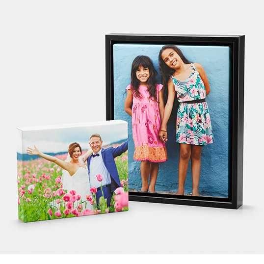 Personalized Pet Canvas Print, 8x10, Home Décor - Golden Retriever