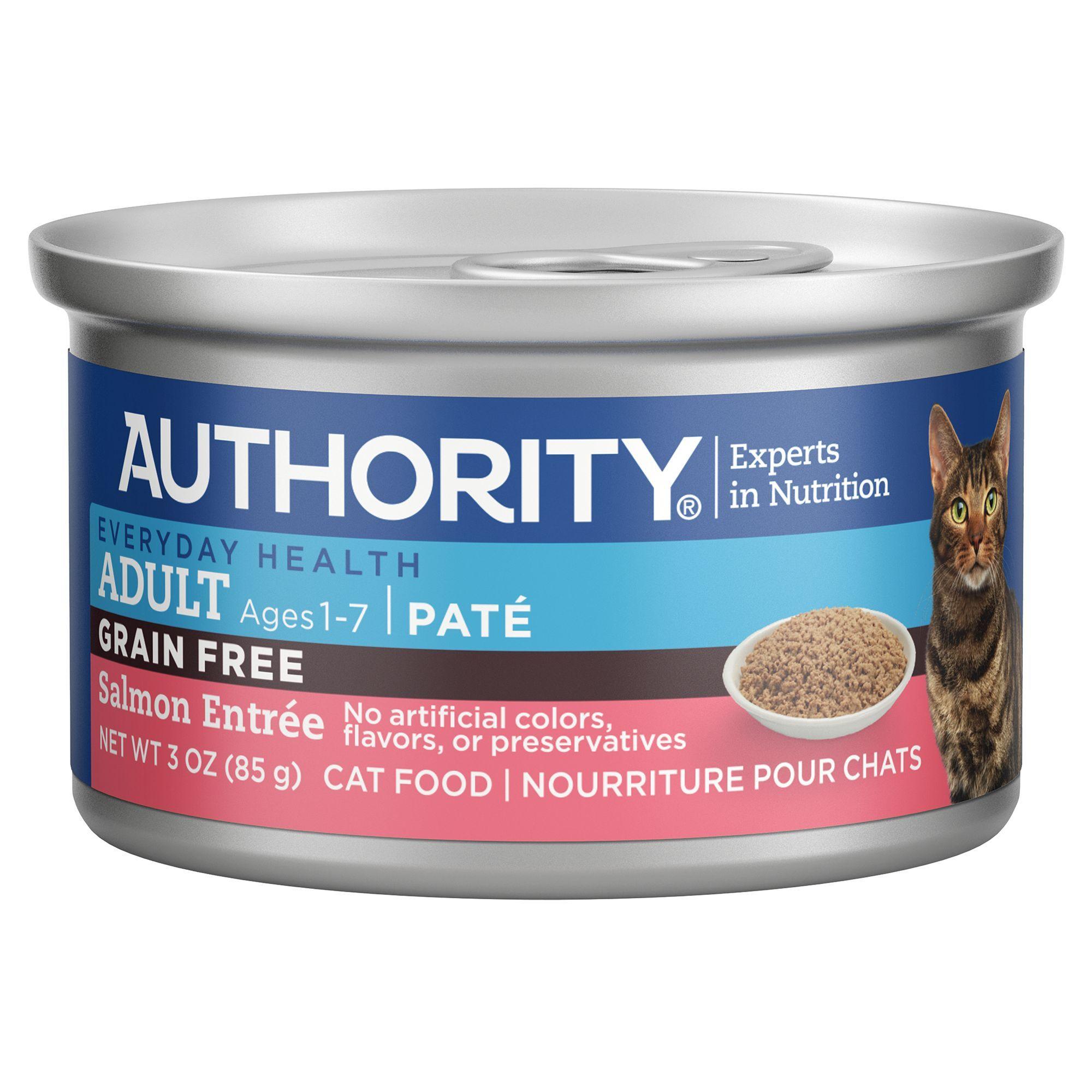 Authority Adult Wet Cat Food Grain Free size 3 Oz, beet