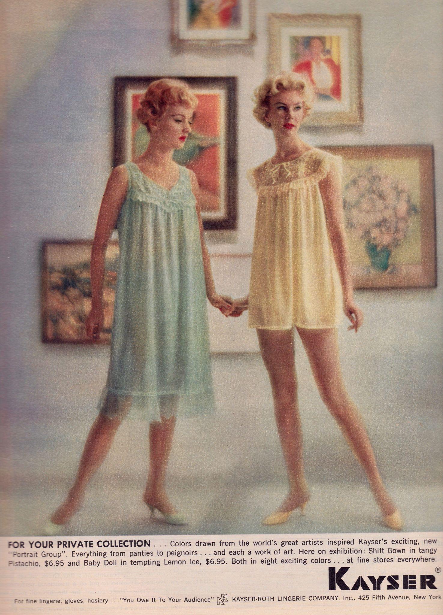 Kayser lingerie in nifty fifties pinterest lingerie