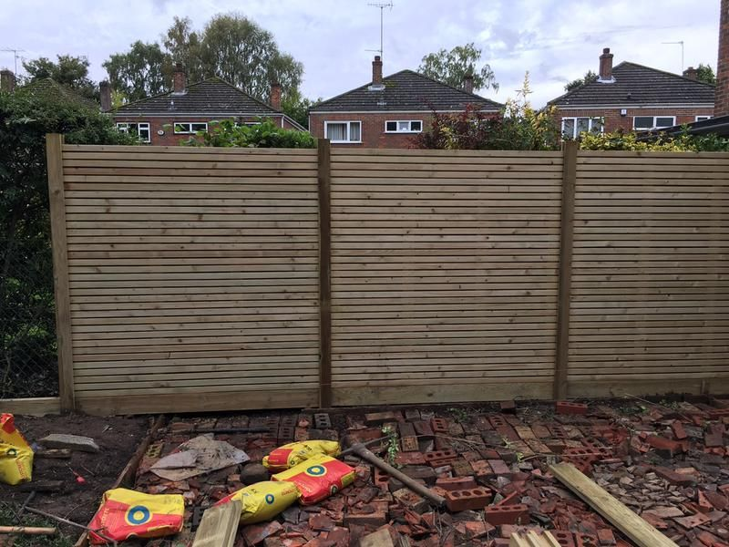 Review photo 1 Fence panels, Slatted fence panels