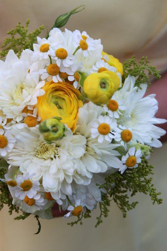 Yellow Country Wedding Bay Area Flowers Http Www Blossomlanefl