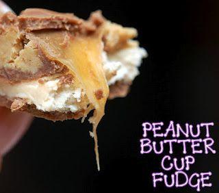 #PicsAndFoodGroup Peanut butter cup caramel fudge