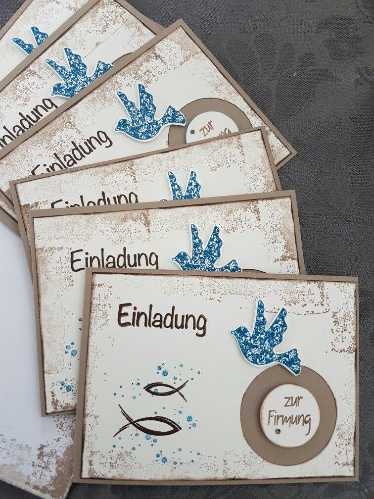 Einladungskarten zur firmung konfirmation taufe pinterest firmung einladungskarten und - Pinterest einladungskarten ...