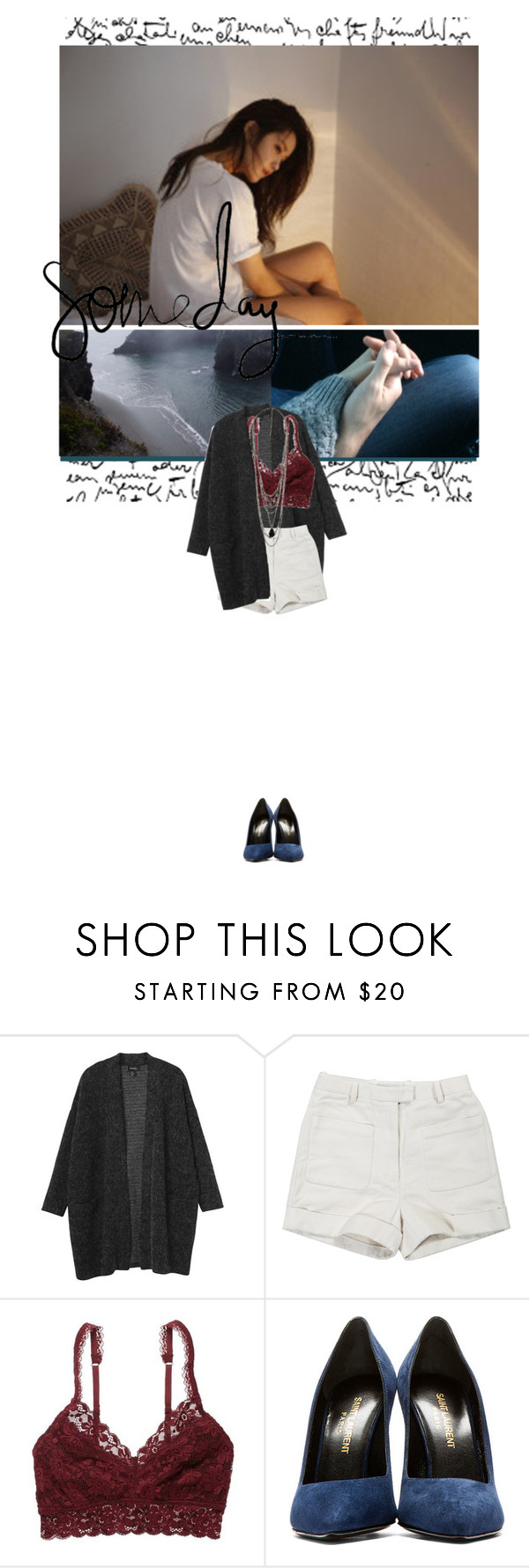 """""""Over Again"""" by tanyahantak ❤ liked on Polyvore featuring Religion Clothing, Monki, 3.1 Phillip Lim, American Eagle Outfitters, Yves Saint Laurent and Forever 21"""