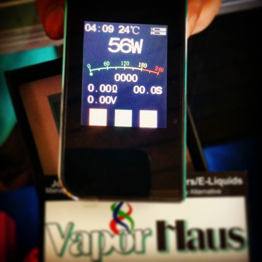 Sigelei Touch Screens are Available! Fun to Touch and Vape on! #sigelei #vaporhaus #touch #vapersunite #vapelife #vapenation #chicagovapers #VaporHaus_Chicago #vapeporn #vaporwave #technology #tempcontrol #supportlocalbusiness #goodvapesir #vapelikeaboss #subohm #instavape #vapeshop #boxmod