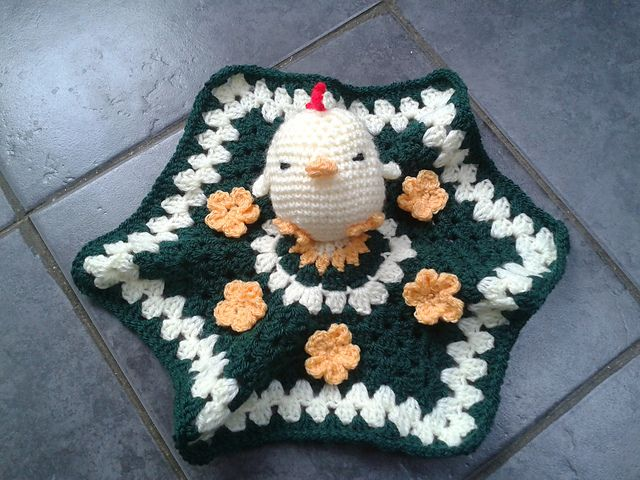 Ravelry: Eggbert the Easter Chicken Lovey / Comforter pattern by ...