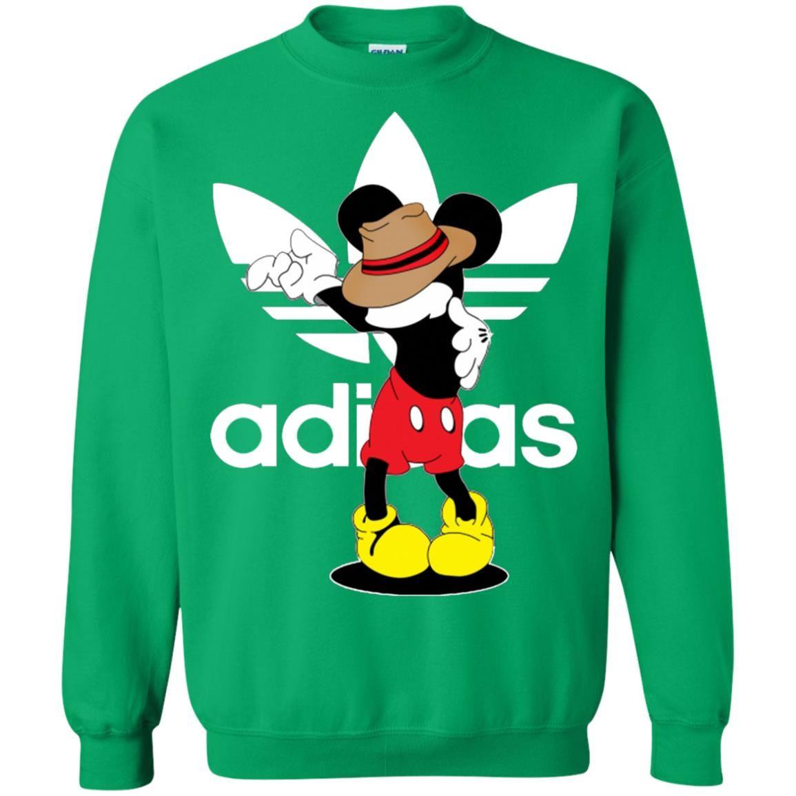 Mickey Mouse Michael Jackson Adidas Sweatshirt in 2019