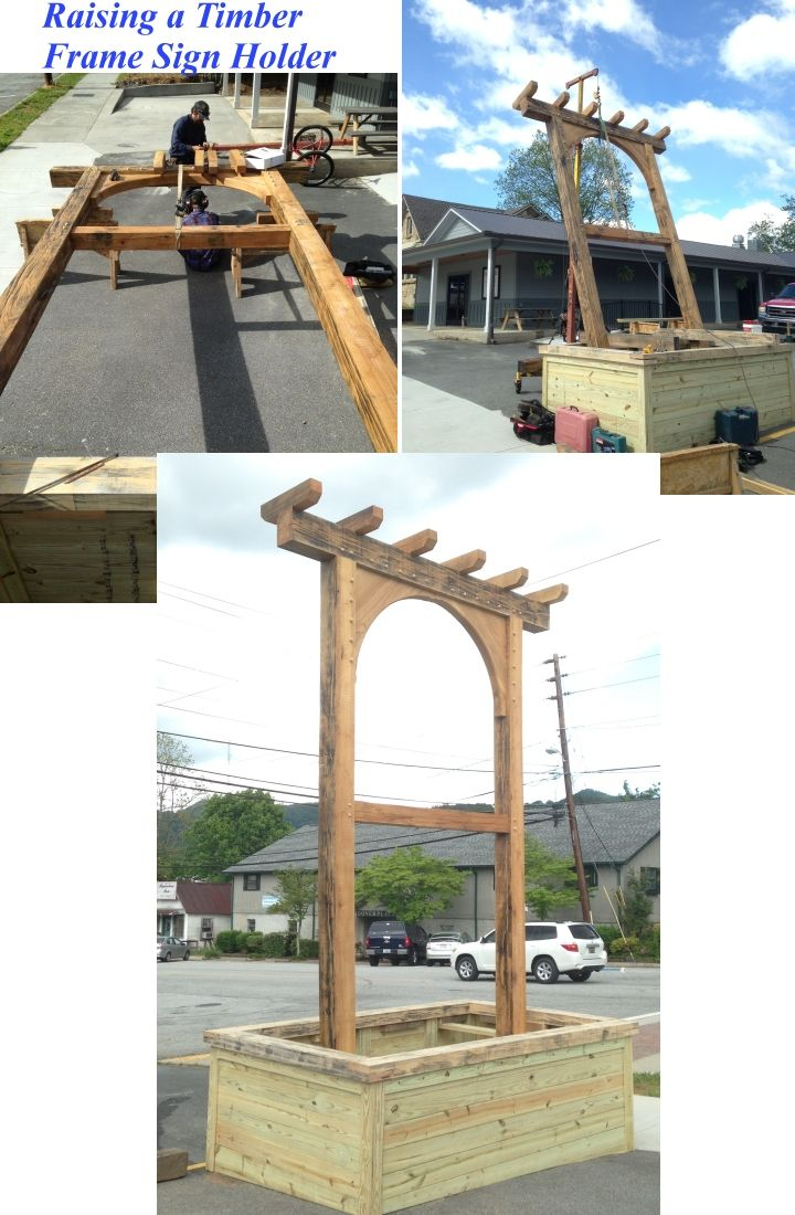 Timber framed & custom commercial woodworking projects   Driveways ...