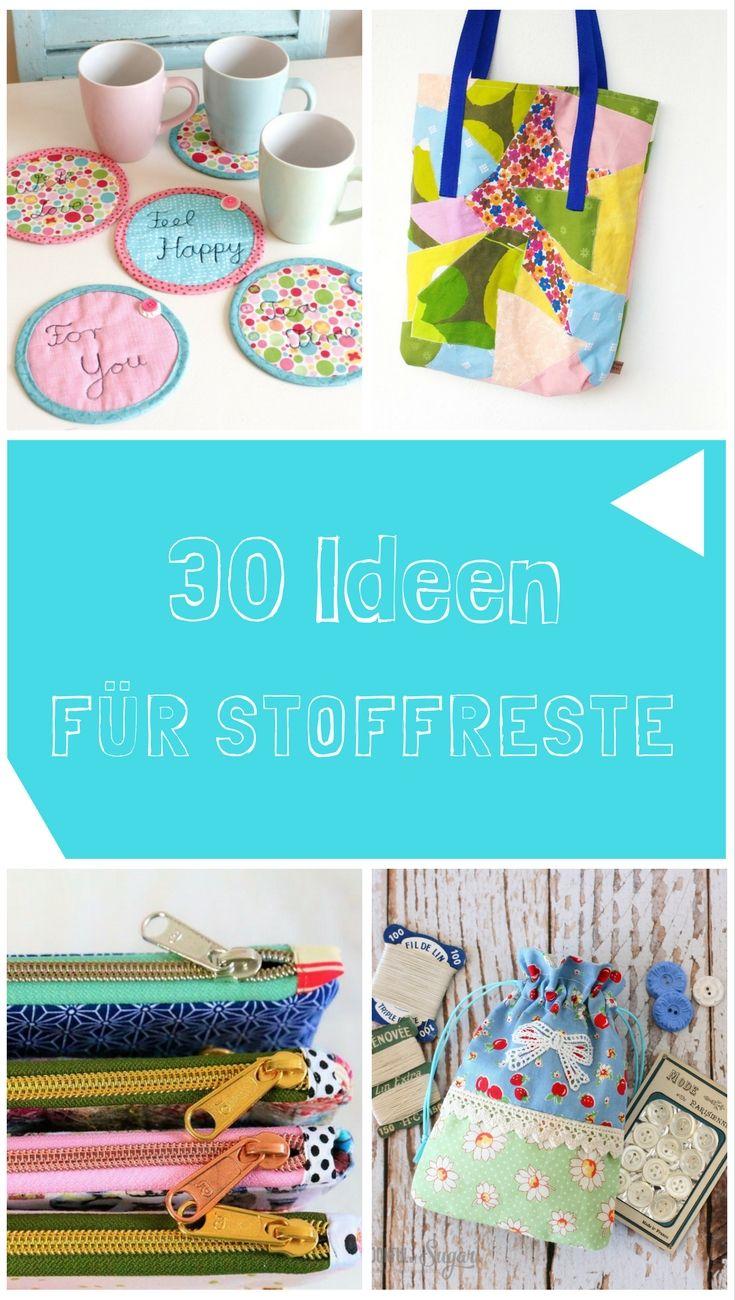 30 tolle Näh-Ideen für deine Stoffreste | DIY MODE | Page 2