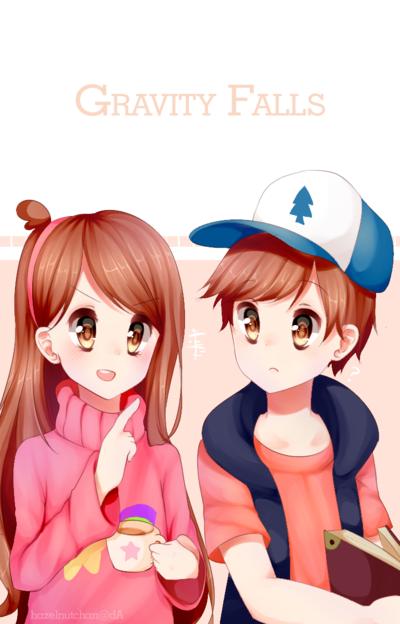 Mabel x Dipper [Gravity Falls] Gravity falls, Fun snacks