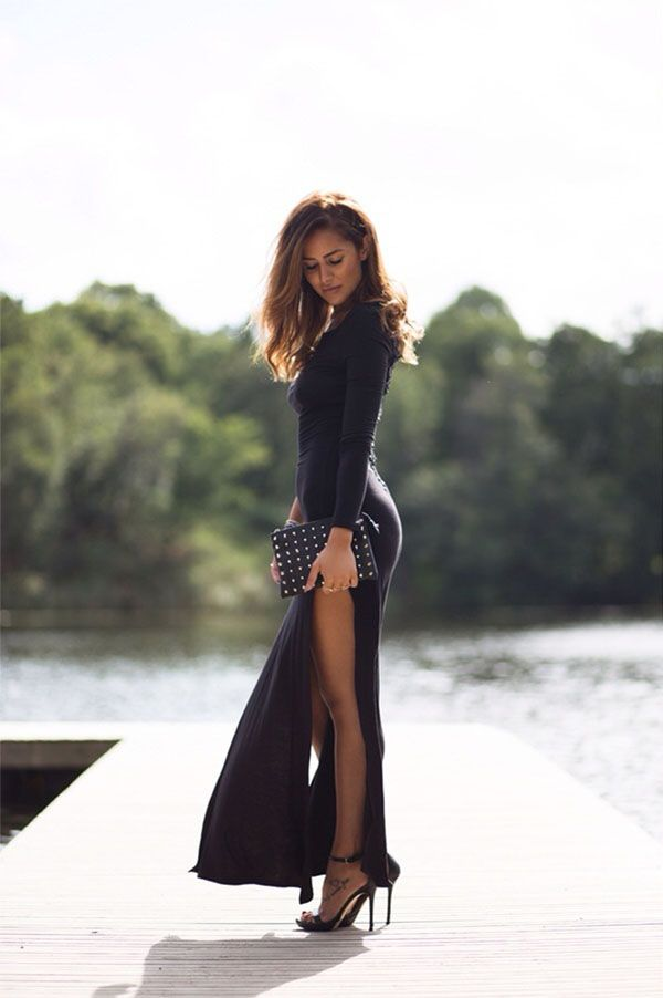 The High Slit Trend Rules. Here Is Why - Outfits And Ideas | Sexy ...