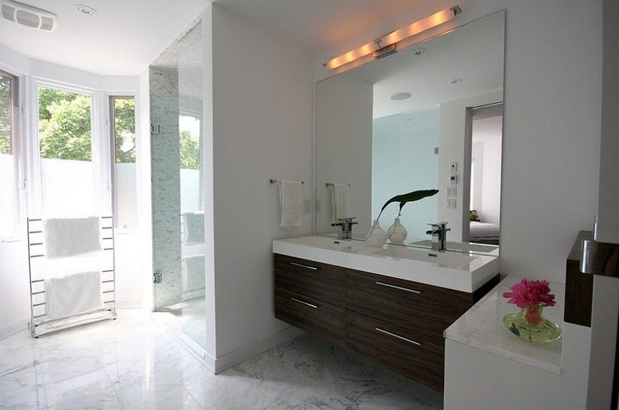 Frameless Bathroom Mirror