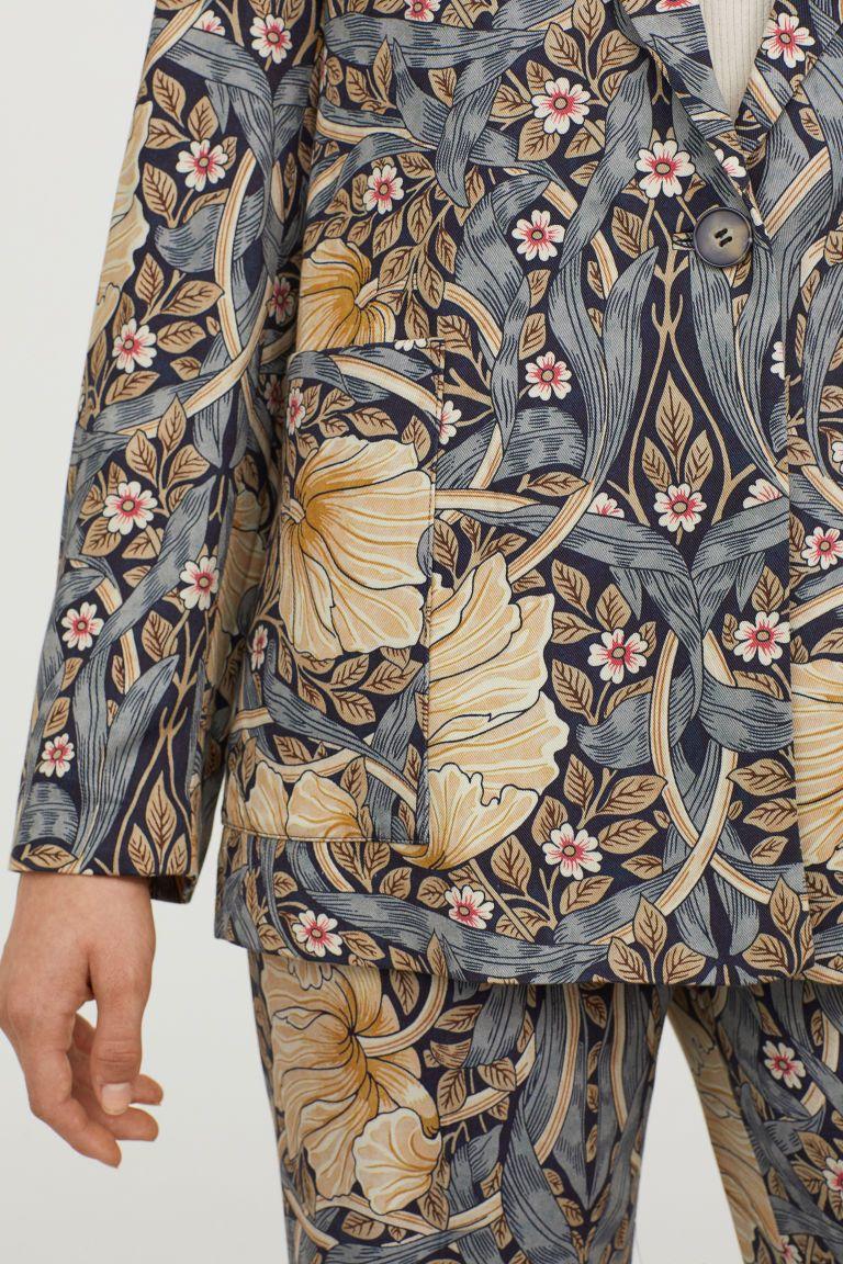 437e716708f5 Patterned Jacket in 2019   Fashion   Jacket pattern, H&m, H&m ...