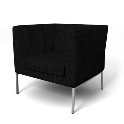 Magnificent Klappsta Armchair Cover Loose Fit Office Armchair Home Inzonedesignstudio Interior Chair Design Inzonedesignstudiocom