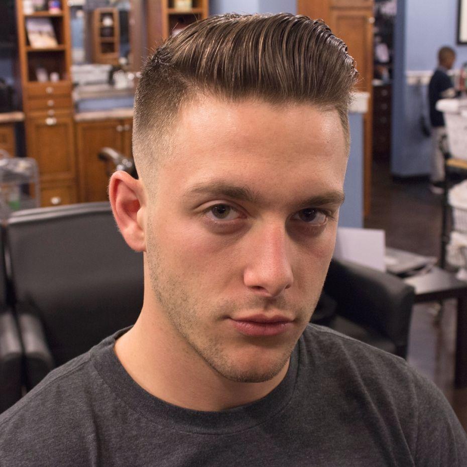 Haarschnitt Für Männer Mit Langem Gesicht  Mens haircuts fade