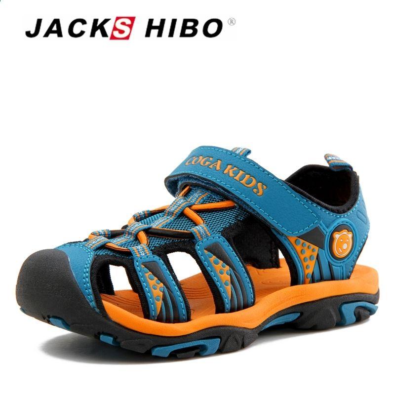 Jackshibo Kid Sandaly Letnie Buty Do Wody Sandaly Plazowe Dla Dzieci Zamknij Toe Antyposlizgowe Wyciecia Sandaly Dla C Kids Sandals Summer Kid Shoes Boys Shoes
