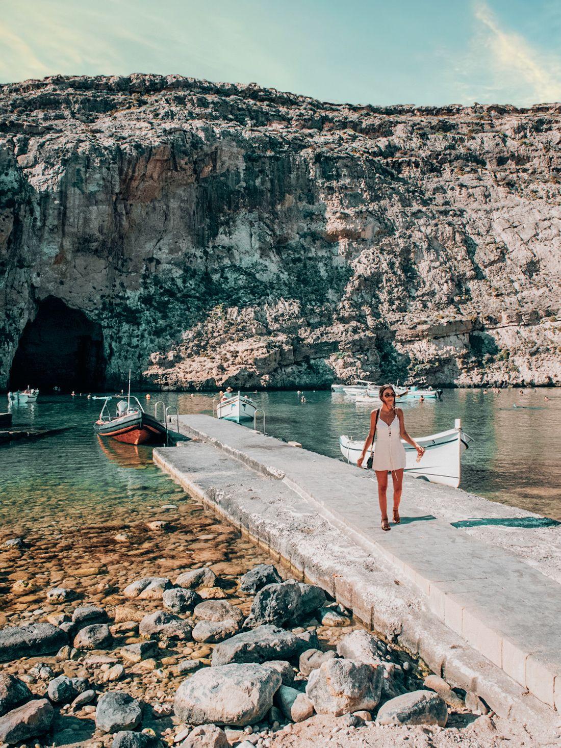 Blue grotto, Gozo Malta