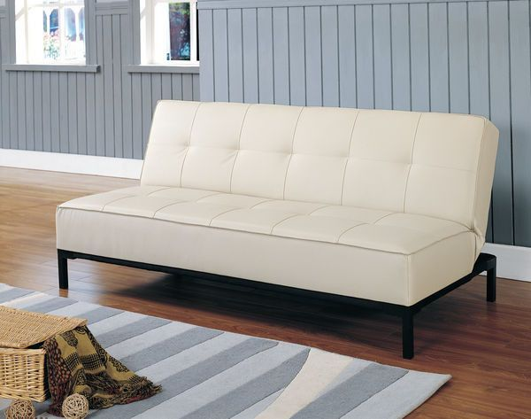 He 4790pu Serene Collection Click Clack Futon Sofa P U