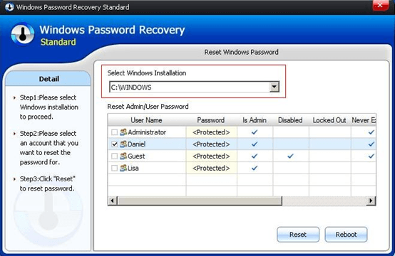 How To Recover Windows Password For Uefi Based Acer Computer