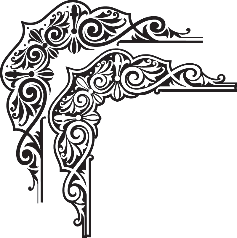 Image detail for Indian style border Vector Graphic